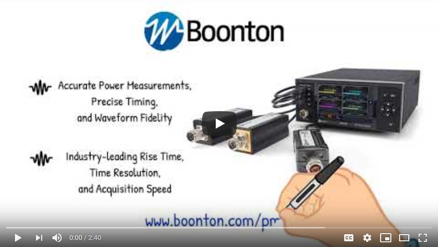 Secondary Surveillance Radar Testing with Boonton's PMX40 RF Power Meter and RTP5000 Sensors